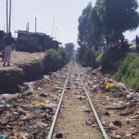 キベラスラム。ナイロビにある世界最大のスラム街。