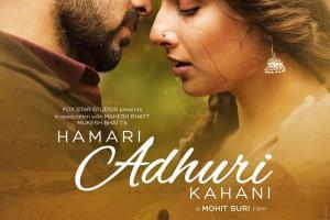 Hamari Adhuri Kahaani First Look Poster Emraan Hashmi, Vidya Balan Revealed 02