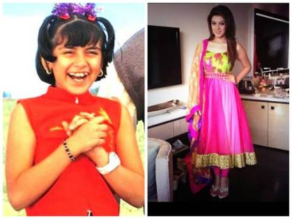 Hansika Motwani then and now