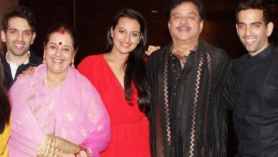 Sonakshi Sinha family pictures