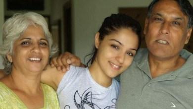 Lekha Washington Family Member Photos Father Husband Name