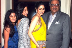 Sridevi Family husband and daughters