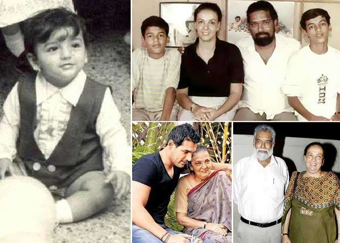 Astounding John Abraham Family Pictures Sister Mother Father Members Name Short Hairstyles Gunalazisus