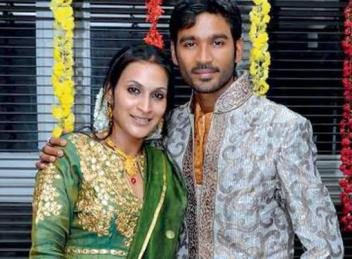 Dhanush family background, Wife Aishwarya photo