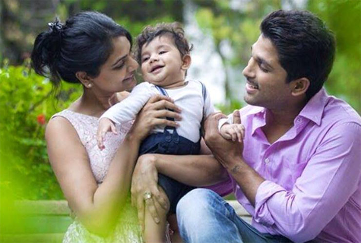 Allu Arjun Family Father Name Wife Son Pictures Age