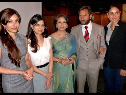 Saif Ali Khan Family Photo, Father, Mother, Wife, Son, Biography