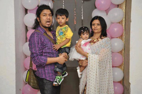 Papon Family Photos Father Wife Son Daughter Age Full Name Biography
