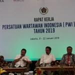 PWI Pusat Gelar Rapat Kerja Perdana di Jakarta