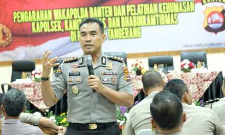 Kabid Humas Polda Banten Minta Tingkatkan Publick Trust di Kalangan Masyarakat