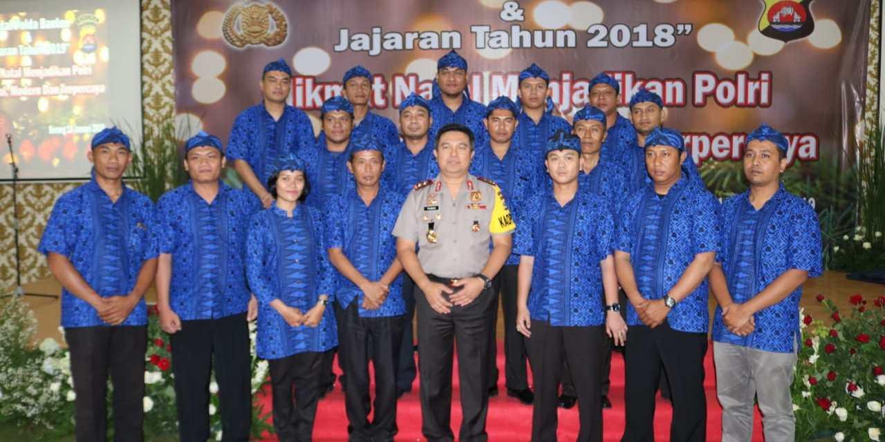 Polda Banten Laksanakan Perayaan Natal dan Tahun Baru