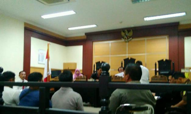 9 Pedagang Kaki Lima Jalani Sidang Tipiring di Tangerang