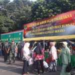 Belum Dibuka, Pasar Murah Korem 052/WKR Dipadati Warga