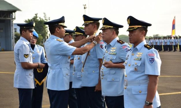 Danlanud Halim Perdanakusuma Pimpin Sertijab Tiga Komandan Skadron