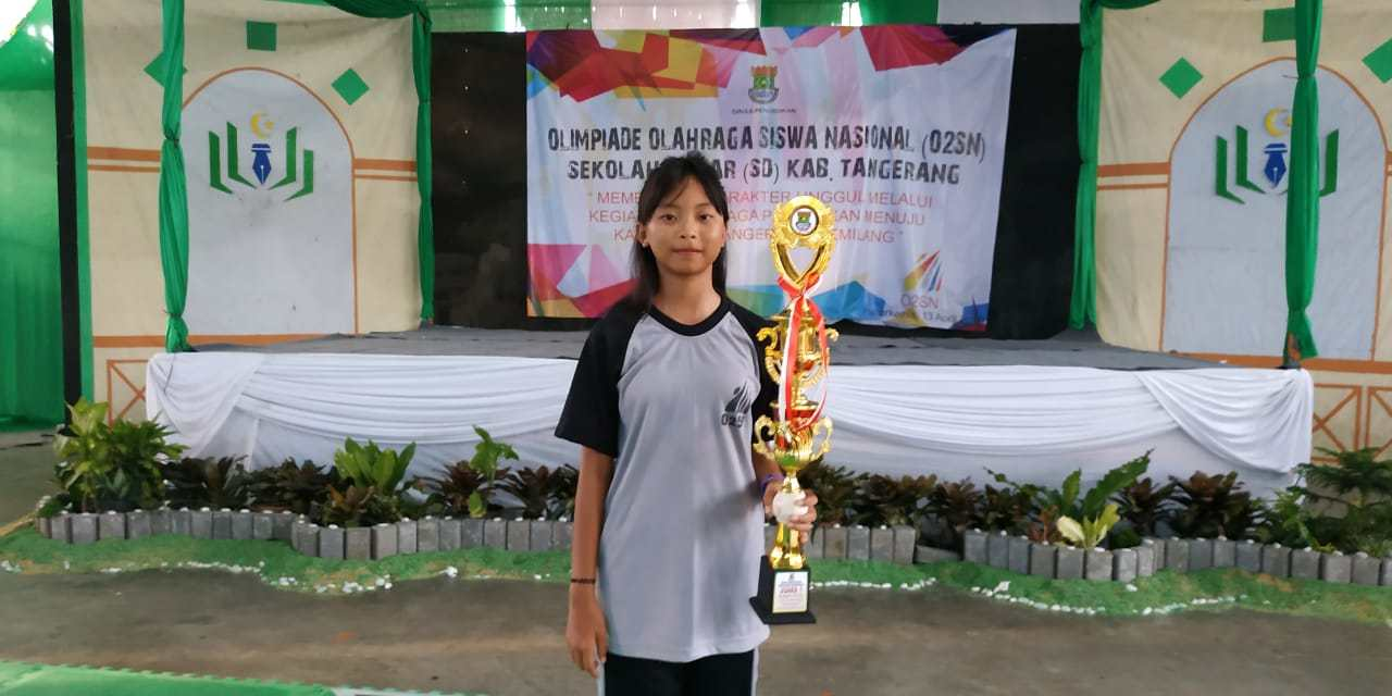 Nelvina AG Simijaya Raih Juara 1 O2SN Renang Tingkat Kabupaten Tangerang