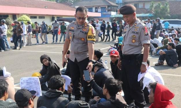 Usai Didata Polisi, 4 dari 243 Orang Diduga Hendak Tawuran Resmi Tersangka