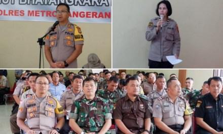 HUT Bhayangkara ke-73, Polrestro Tangerang Kota Gelar Bhakti Kesehatan Donor Darah