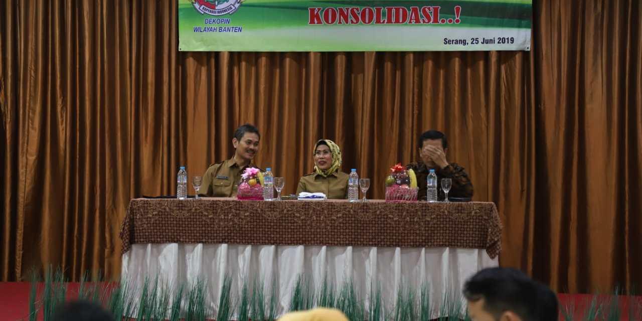 Dekopinwil Banten Perkuat Manajemen Berbasis Teknologi