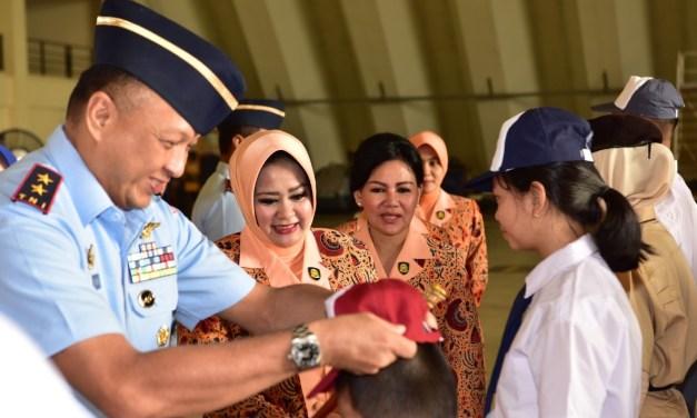 1002 Siswa Baru Sekolah Angkasa Lanud Halim Perdanakusuma Ikuti MPLS