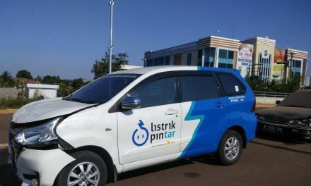 Pasca Kecelakaan, Mobil PLN Area Serpong Masih Di Mapolres Tangsel