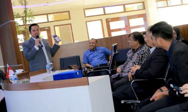Delegasi Jabatan Penerangan Malaysia Tertarik TLR Kota Tangerang