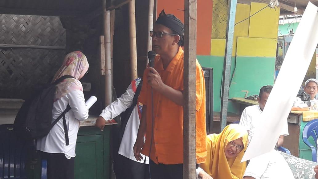 Maestro Go Green, Bambang Irianto Kunjungi Kelurahan Pabuaran Tumpeng