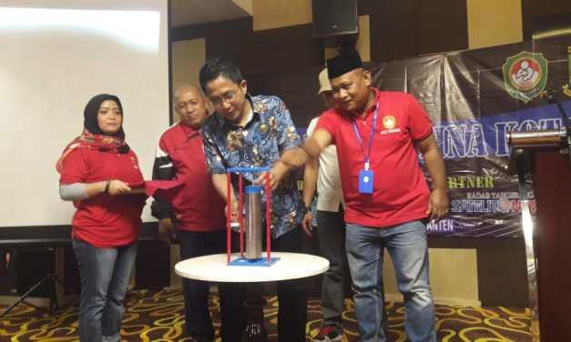 Ketua DPRD Kota Tangerang: Raker Pertina Menjadi Awal Baik Dunia Olahraga Kota Tangerang