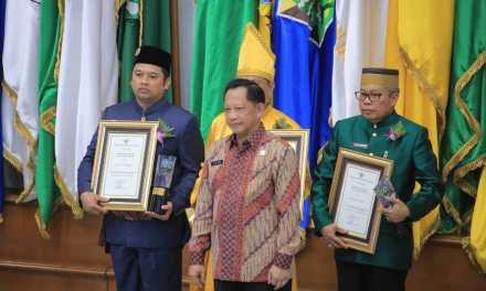 Kali Ketiga, Pemkot Tangerang Raih Penghargaan Swasti Saba Wistara