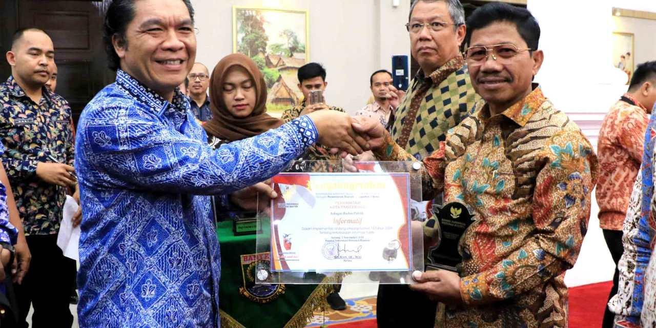 Pemkot Tangerang Berhasil Pertahankan Penghargaan Badan Publik Kategori Informatif