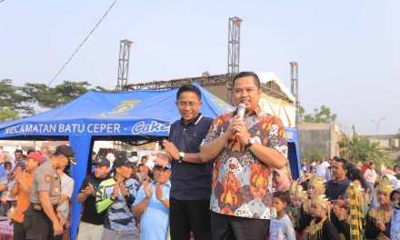 Wali Kota Bersama Ketua DPRD Kota Tangerang Lepas Peserta GJS