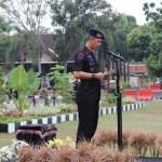 Puncak Peringatan HUT Brimob ke-74, Wakapolda Banten Pimpin Upacara di Lapangan Polda Banten