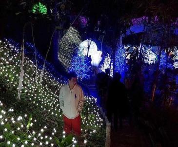 Spot-Foto-Taman-Lampion-Gardu-Pandang-Kaliurang