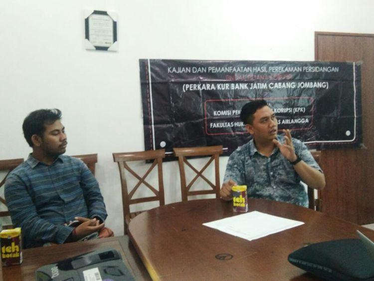 Kajian BPD fiktif Bank Jatim Cab Jombang