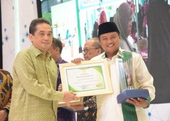 Foto: Wakil Gubernur Jawa Barat (Jabar) Uu Ruzhanul Ulum mewakili Gubernur Jabar Ridwan Kamil menghadiri Rapat Kerja Kementerian Perdagangan RI Tahun 2020 di Hotel Borobudur