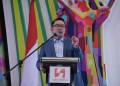 Foto: Gubernur Jabar Ridwan Kamil menghadiri pembukaan Musyawarah Daerah (Musda) XVI Himpunan Pengusaha Muda Indonesia (HIPMI) Jawa Barat di Swiss-Belinn Hotel