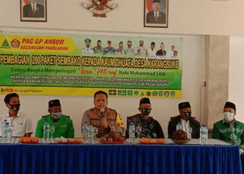 Foto: Kegiatan santunan PAC Ansor Kab. Malang