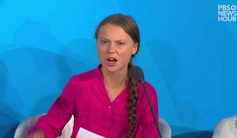 国連気候行動サミット2019でのグレタ・トゥーンベリさん、涙と怒りのスピーチ。