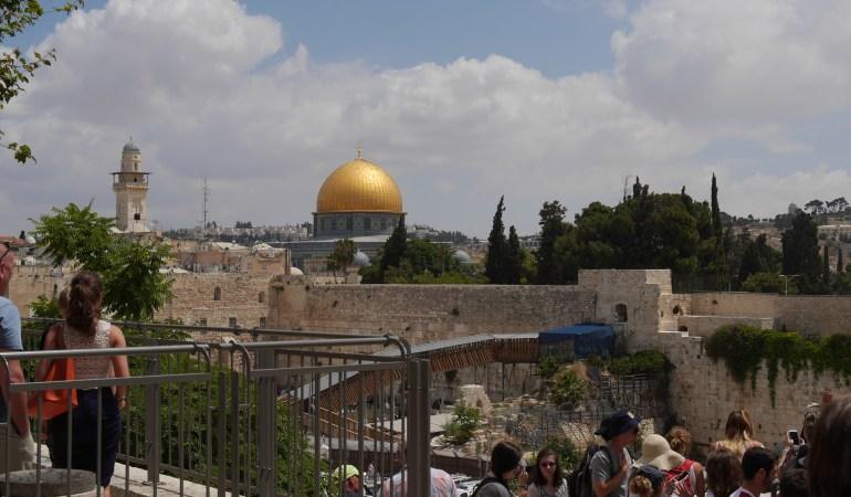 10年前の約束と新たな約束 エルサレム旧市街にて