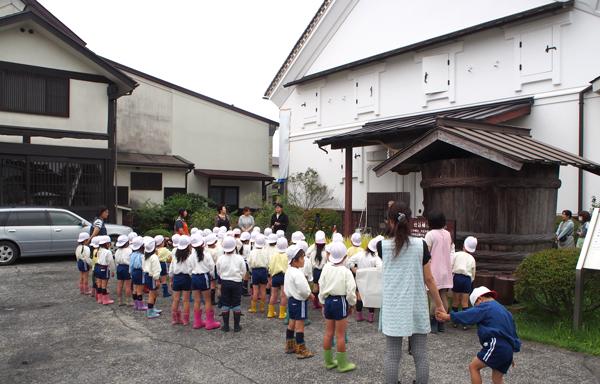 愛心幼稚園(稲刈り1)