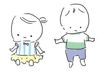 5ヶ月1歳赤ちゃん夏服の着せ方