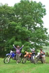 林道ツアー