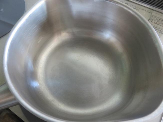 クエン酸でキレイになった鍋
