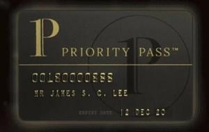 楽天プレミアムカードでプライオリティカード