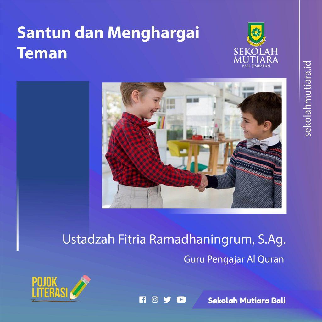 Soal latihan pendidikan agama islam (pai) kelas x tahun 2018 jawablah huruf a, b atau c pada jawaban yang paling tepat ! Santun Dan Menghargai Teman Sekolah Mutiara Bali