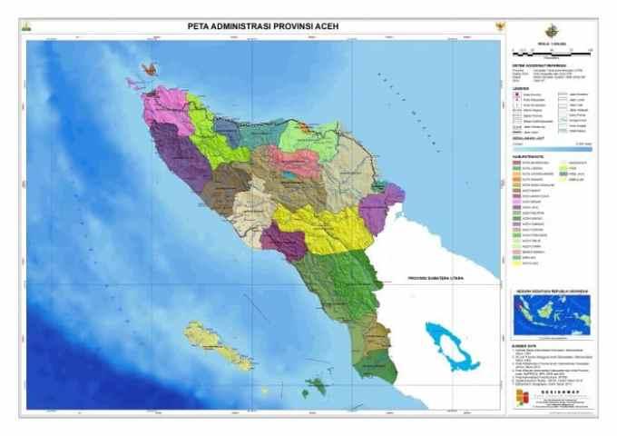 Gambar Peta Aceh