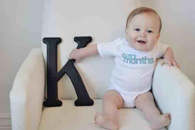 Bayi Usia 10 Bulan