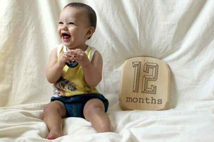 Bayi Usia 12 Bulan