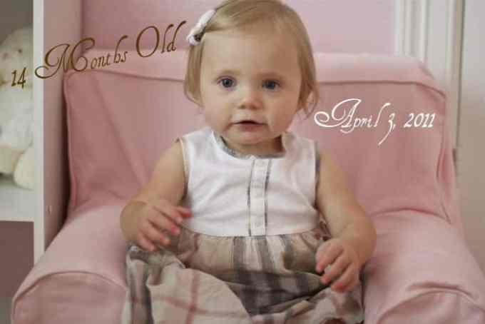 Bayi Usia 14 Bulan