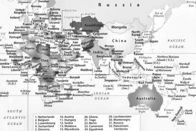 Sejarah dan Asal Usul Benua Asia