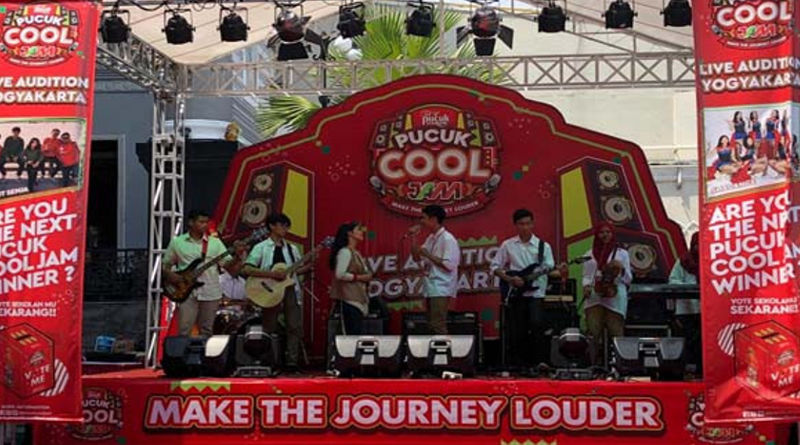Live Audition Road To Pucuk Cool Jam 2020 Make The Journey Louder Wilayah Yogyakarta. FOTO/DOK Pucuk Live Audition Road To Cool Jam