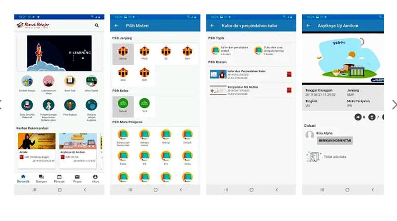 Aplikasi Rumah Belajar (dok. Google Play)